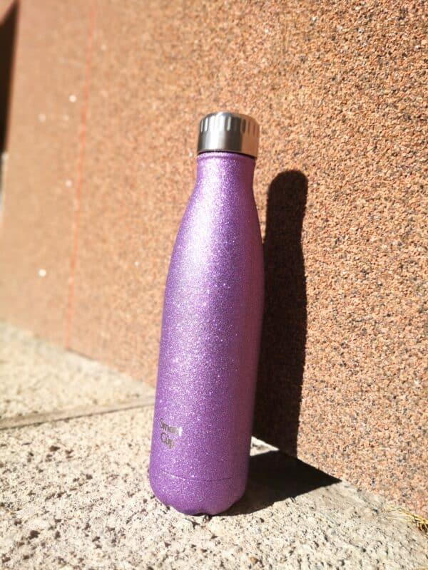 Roostevabast terasest joogipudel, mahutab 500ml. Sätendav viimistlus.